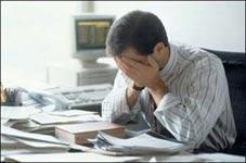 تاثیر منفی استرس شغلی بر سلامت روانی افراد