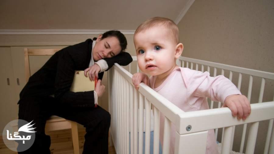 چرا بچه ها هنگام خوابیدن مقاومت می کنند!